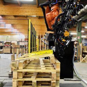 Empilage imbriquage avec le robot